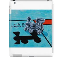B and O Railroad iPad Case/Skin