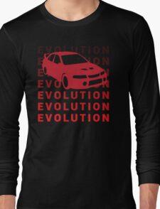 Mitsubishi Evo JDM Car Shirt Long Sleeve T-Shirt
