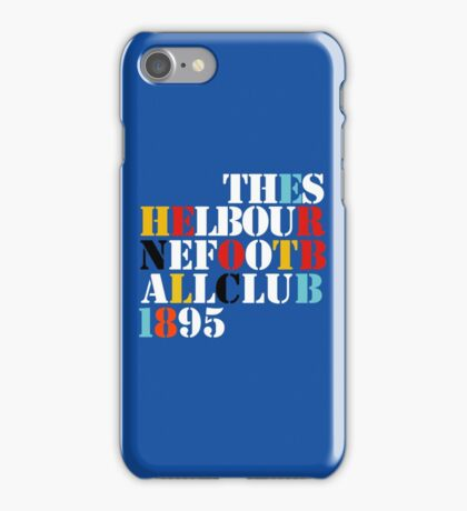 THE SHELBOURNE FOOTBALL CLUB 1895 (STONE ROSES) iPhone Case/Skin