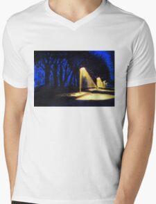 Streetlights Mens V-Neck T-Shirt