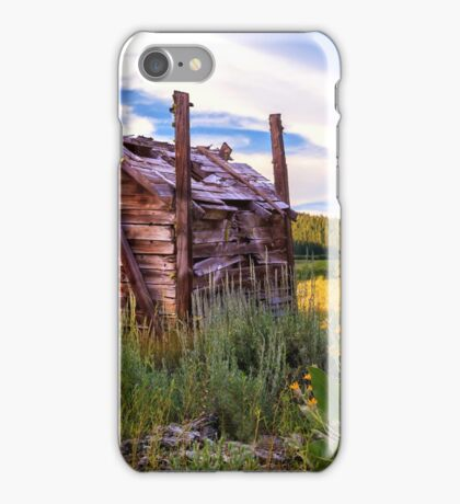 Old Lumber Mill Cabin iPhone Case/Skin