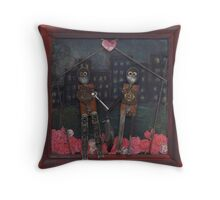 Spring Fling - Throw Cushion Throw Pillow