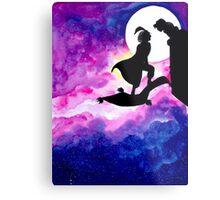 Jasmine & Aladdin Metal Print