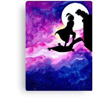 Jasmine & Aladdin Canvas Print