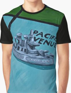 Battle Ship Graphic T-Shirt