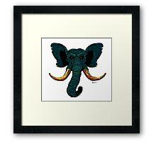 The Mammoth  Framed Print