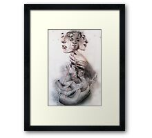 Slowly we unfurl Framed Print