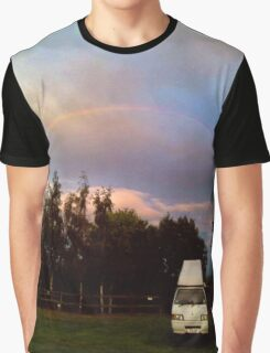 Somewhere - under the rainbow Graphic T-Shirt