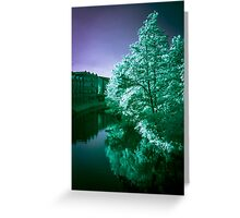 Infra-Red River II Greeting Card