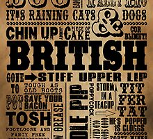 VINTAGE BRITISH SAYINGS by DOOLALLY