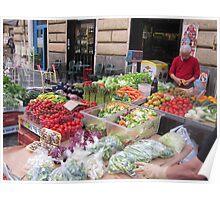 Roman Market Stall Poster