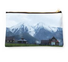 Village In the Mountains Studio Pouch