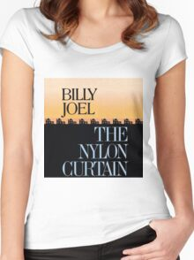 BILLY JOEL -THE NYLON CURTAIN Women's Fitted Scoop T-Shirt