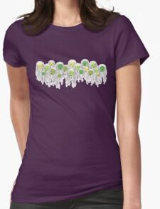 sleeping zombies 1 Womens Fitted T-Shirt