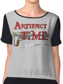 Artifact Time! Chiffon Top