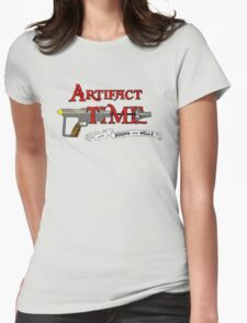 Artifact Time! Womens Fitted T-Shirt