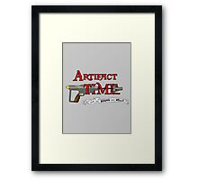 Artifact Time! Framed Print