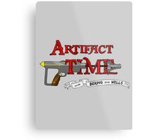 Artifact Time! Metal Print