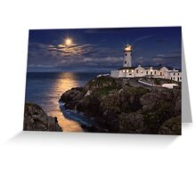 Moonlit Fanad Greeting Card