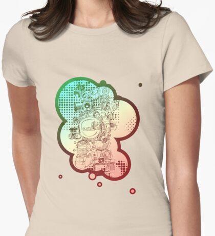Reflex! Womens Fitted T-Shirt