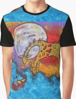 Land Meets Sea Graphic T-Shirt
