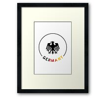 World Cup: Germany Framed Print