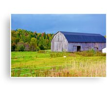 Nova Scotia Barn in Autumn Canvas Print