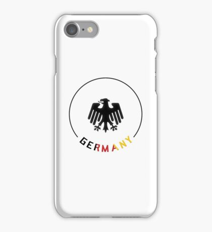 World Cup: Germany iPhone Case/Skin