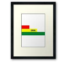 World Cup: Ghana Framed Print