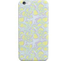 Floral abstract pattern iPhone Case/Skin