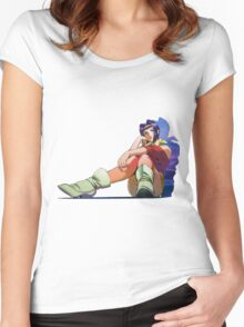 Faye Valentine; Cowboy Bebop. Women's Fitted Scoop T-Shirt