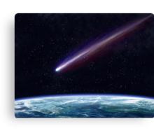 Comet Canvas Print