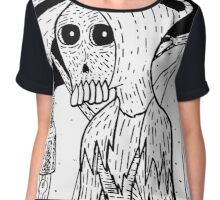 Grim's Night Out Chiffon Top