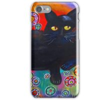 Francis Loves Flowers iPhone Case/Skin