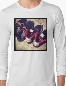 Beach Shoes  Long Sleeve T-Shirt