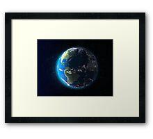 Earth Dawn Framed Print