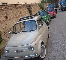 Italian Flag Fiats by vspicerstuart