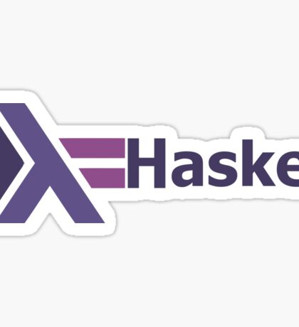 haskell programming language  Sticker