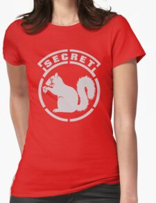 Secret Squirrel Womens Fitted T-Shirt
