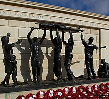 The Stretcher Bearers by Alison Scotland