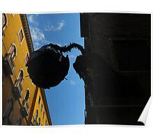 Venice Dragon Sculpture  Poster