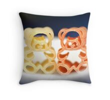 EnJOY Your Soup With Bears Throw Pillow