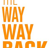 tThe way way back by thewaywayback