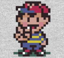Ness - EarthBound One Piece - Long Sleeve