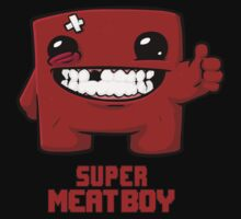 Super Meat Boy Baby Tee