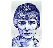 KATHERINE MANSFIELD portrait Poster