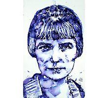 KATHERINE MANSFIELD portrait Photographic Print