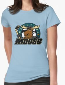 Manitoba Moose Womens Fitted T-Shirt