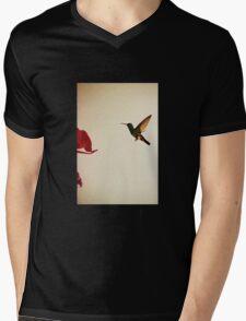 Hummingbird In Tulua, Colombia II Mens V-Neck T-Shirt