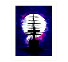Sailing Ship! Art Print